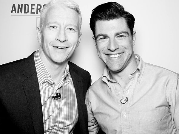 Max Greenfield Anderson Cooper Live New Girl