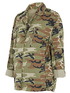 Molly Sims Jenna Dewan-Tatum Drew Barrymore Army Jacket 1 Trend 3 Ways