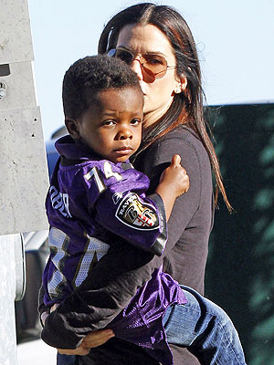 Sandra Bullock Louis Baltimore Ravens Jersey Super Bowl