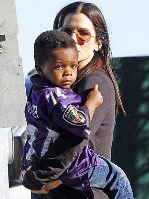 Sandra Bullock Louis Baltimore Ravens Jersey Super Bowl