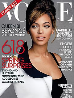 Beyonc Vogue Cover Talks Motherhood and Daughter Blue Ivy