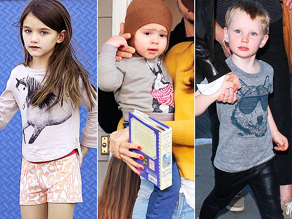 Suri Cruise Flynn Bloom Ignatius Upton Animal Motif Tees 1 Trend 3 Ways