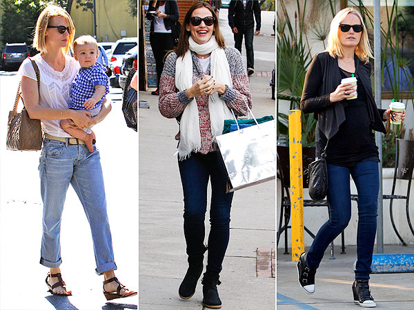 January Jones Jennifer Garner Malin Akerman Citizens for Humanity Jeans