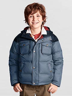 Lands' End Down Puffer Jacket 