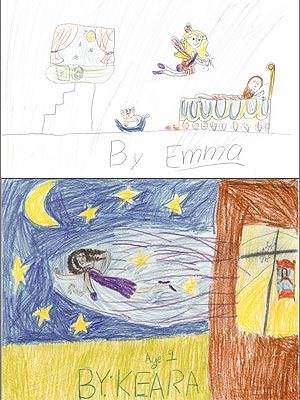 Kristi Yamaguchi Daughters Drawings Tom's of Maine Tooth Fairy