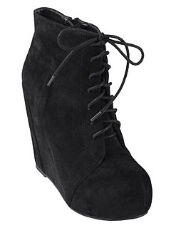Journee Collection Lace Up Booties