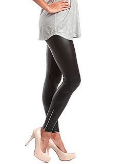 Charlotte Russe Liquid Leather Leggings