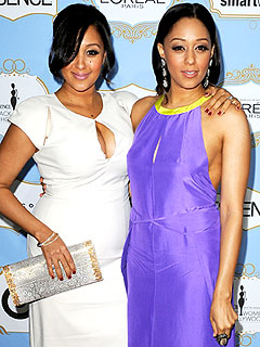 Tamera Mowry Tia Mowry Essence Black Women in Hollywood Luncheon
