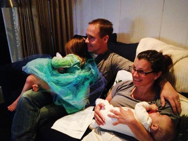 Chad Lowe Family Oscars Night
