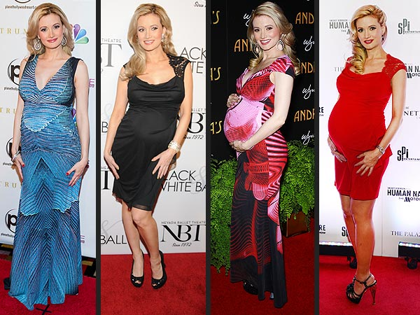 Holly Madison Maternity Style