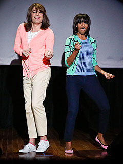 VIDEO: Michelle Obama Does the Dougie | Jimmy Fallon, Michelle Obama