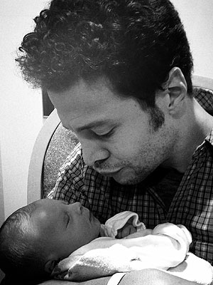 Justin Guarini American Idol Welcomes Son Asher