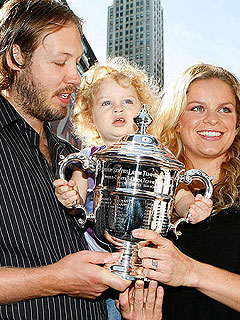 Kim Clijsters Welcomes Son Jack Leon