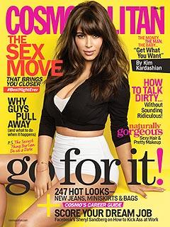Kim Kardashian Pregnant Cosmopolitan Cover