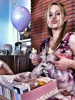 Kristen Bell Baby Shower