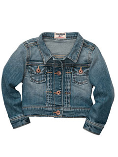 Osh Kosh Stretch Denim Jacket
