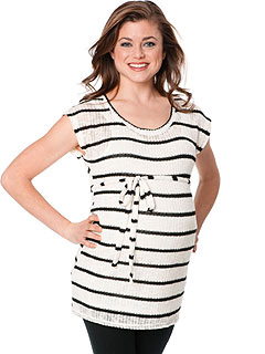 Motherhood Maternity Belted Tunic