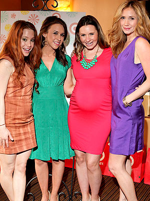 Beverley Mitchell Baby Shower Blog