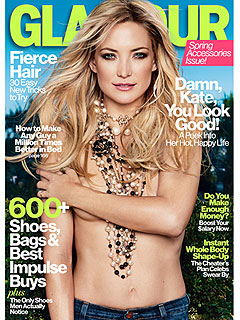 Kate Hudson Glamour Magazine Cover