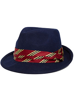 Brooks Brothers Stripe Fedora
