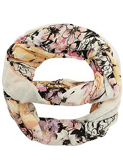 Dorothy Perkins Cream Floral Jersey Snood