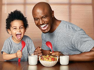 Aww! Taye Diggs Shares 'Got Milk' Ad with Walker | Taye Diggs