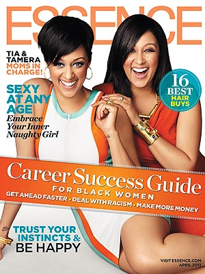 Tia Mowry-Hardict Tamera Tamera Mowry-Housley Essence Cover
