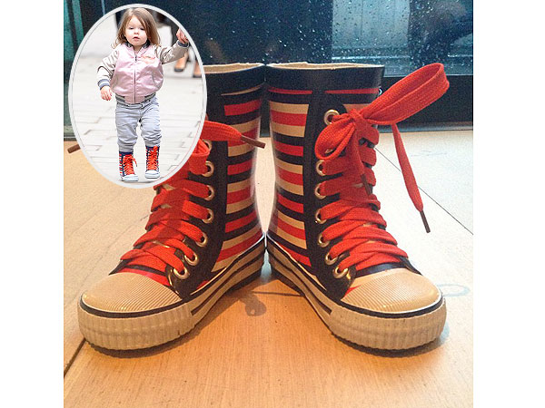 Victoria Beckham Marc Jacobs Rain Boots
