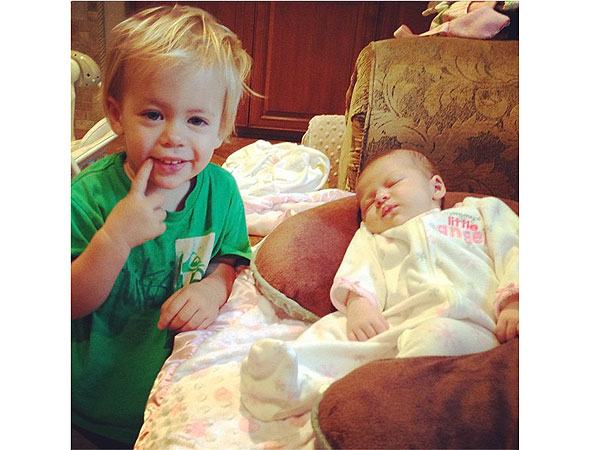 Jennie Finch Blog Paisley Faye First Photos