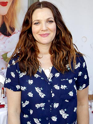 Drew Barrymore Flower makeup