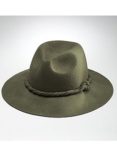 Jones New York Wide Brim Fedora