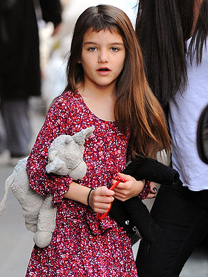 Suri Cruise New Bangs