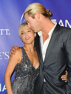Chris Hemsworth Elsa Pataky Oceana Ball