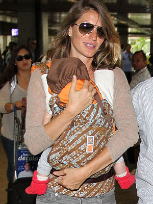 Gisele Bundchen Ergobaby Carrier