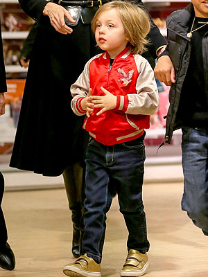 Knox Jolie-Pitt Stella McCartney Kids Eastwood Bomber Jacket Look for Less