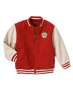 Gymboree Baseball Varsity Jacket