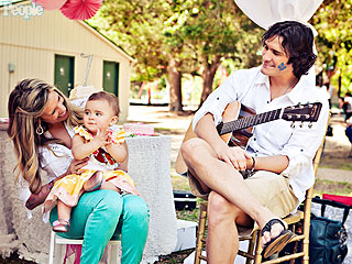 CUTE PHOTO: Joe Nichols' Daughter Dylan Turns One