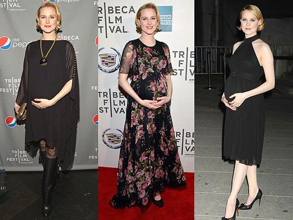 Evan Rachel Wood Tribeca Film Festival Maternity Style