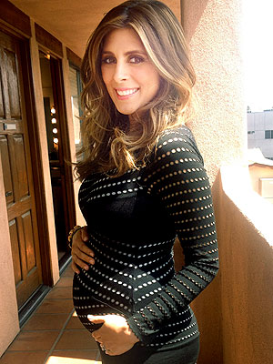 Jamie-Lynn Sigler The Talk Pregnancy Boobs