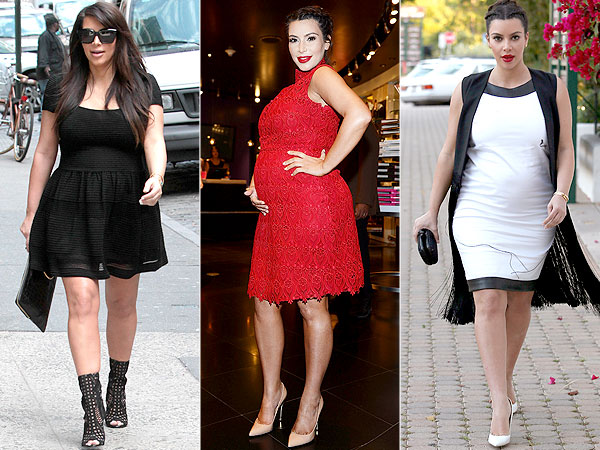 Kim Kardashian Pregnancy Style