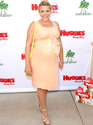Busy Philipps Huggies Baby2Baby Isabella Oliver Una Maternity Dress