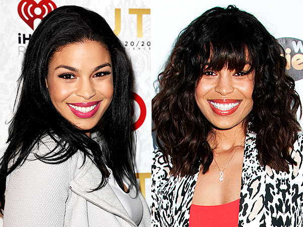 Jordin Sparks bangs