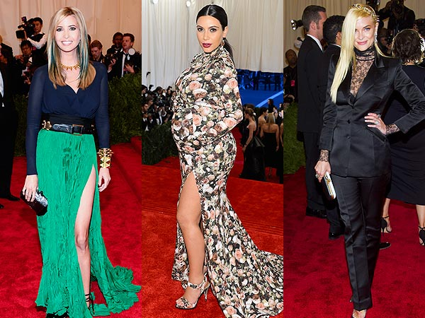Met Gala Kim Kardashian Jaime King Ivanka Trump Pregnant