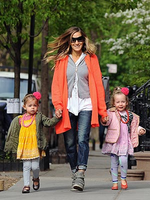 Sarah Jessica Parker Daughters Tabitha Loretta Luna Leggings Chewbeads Juniorbeads Yosi Samra