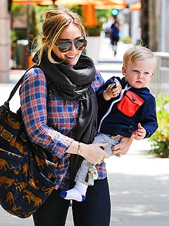 Hilary Duff Mother's Day