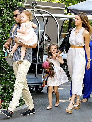 Jessica Alba Cash Warren Honor Haven Mother's Day