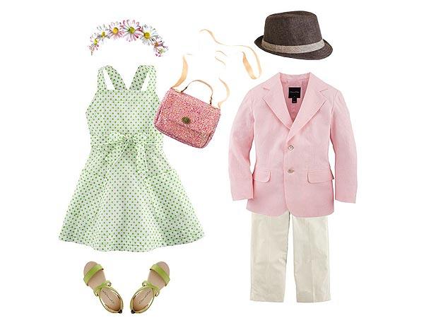 Pastels: Oscar de la Renta Kids Styling Tips Marissa Kraxberger