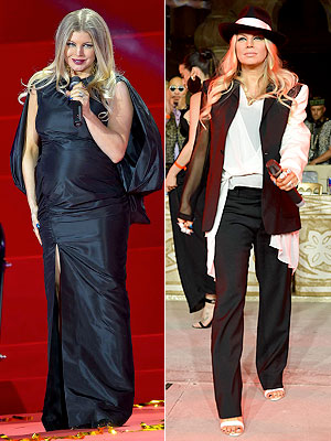 Fergie Pregnant Vienna Life Ball 2013 Tom Ford