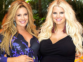 PHOTO: Jessica Simpson Throws CaCee Cobb a Baby Shower