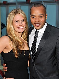 CaCee Cobb Donald Faison Welcome Son Rocco